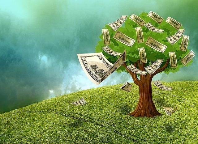 strom plodící peníze