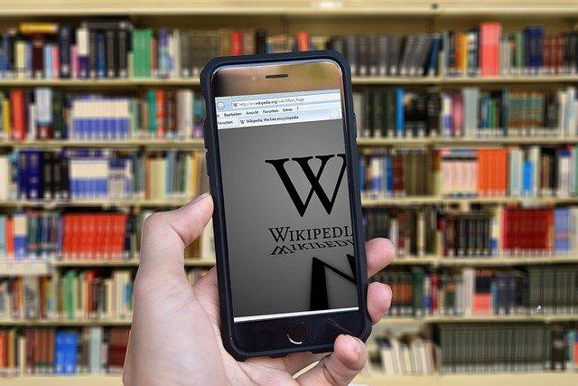wikipedia v chytrém telefonu