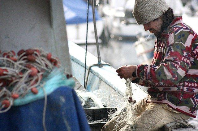 příprava rybáře