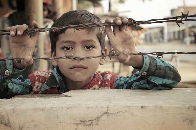 chlapec v Indii