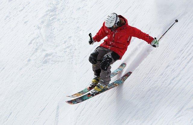 zkušený lyžař