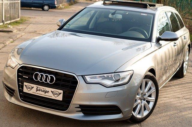 luxusní Audi