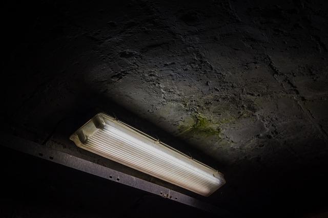stropní zářivky
