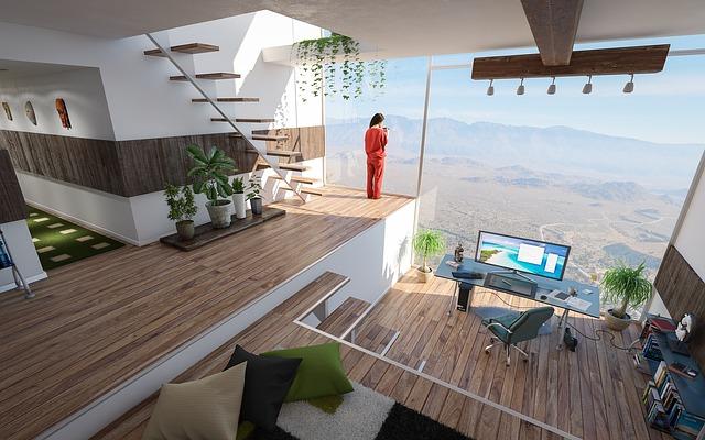 Samonosné schodiště v moderním bytě.jpg