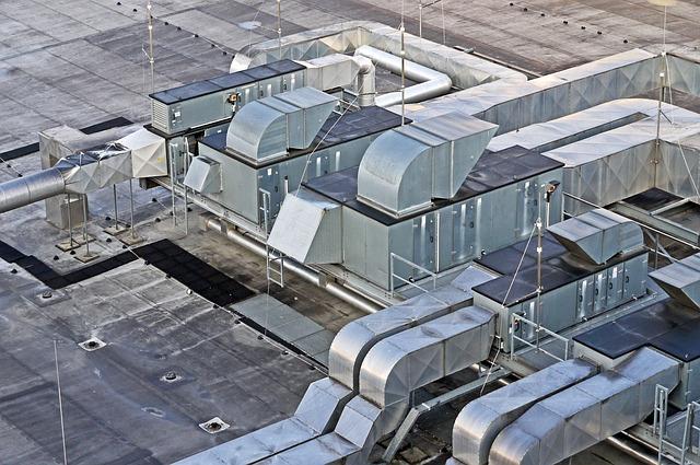 průmyslová klimatizace