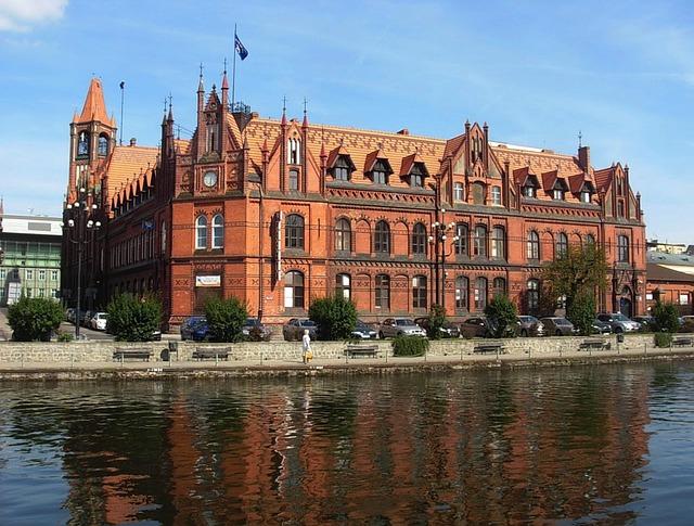 městský úřad v centru města